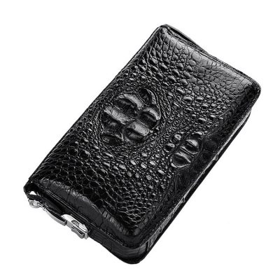 Casual Crocodile Anti-theft Lock Wallet for Men