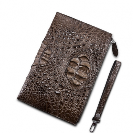 Casual Large Crocodile Clutch Wallet