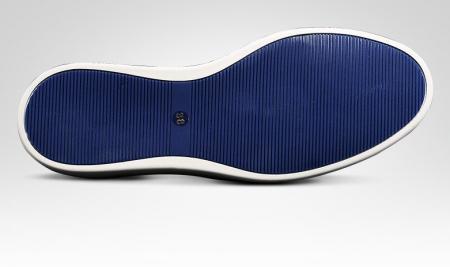 Fashion Alligator Wingtip Oxford Sneakers-Sole