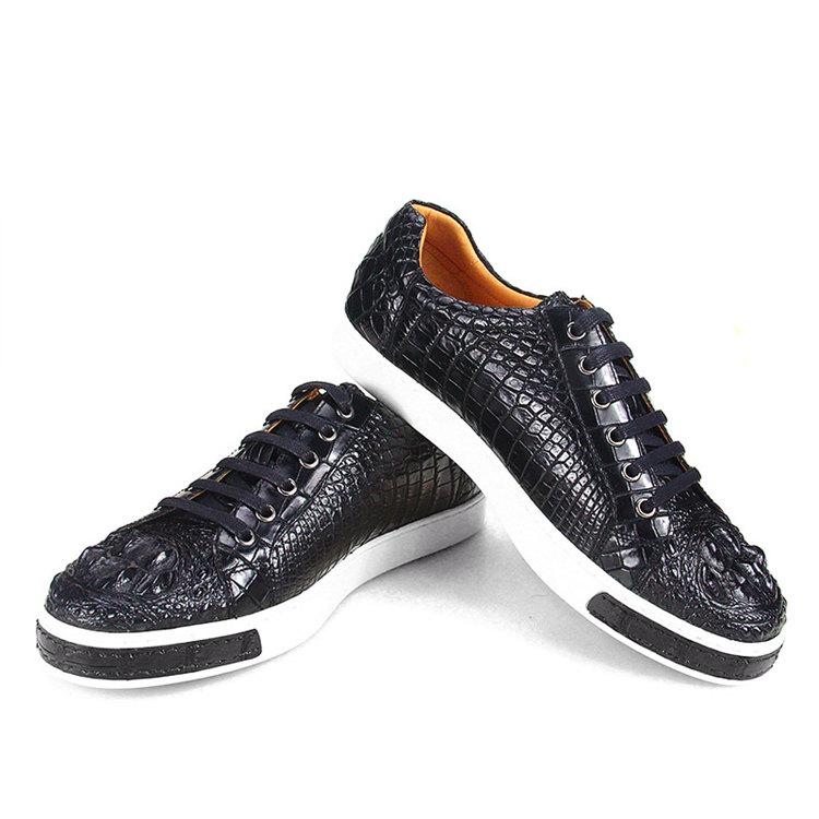 Fashion Crocodile Skin Shoes, Crocodile Sneakers