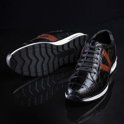 Fashion Running or Walking Alligator Shoes for Casual Outfits-Sole