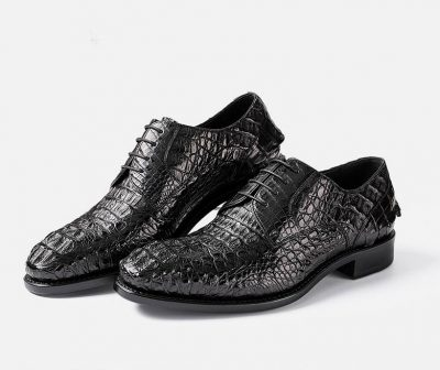Formal Crocodile Skin Shoes-Exhibition