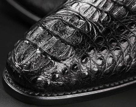 Formal Crocodile Skin Shoes-Top