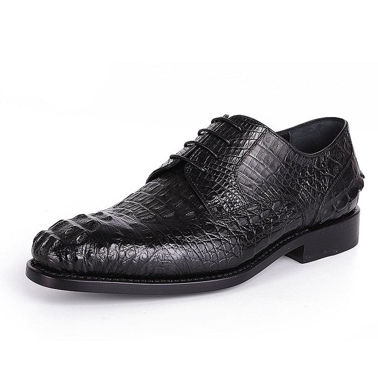 Formal Crocodile Skin Shoes