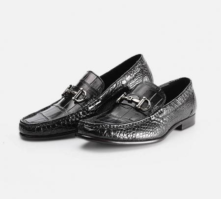 Handmade Alligator Boat Shoes-Exhibition