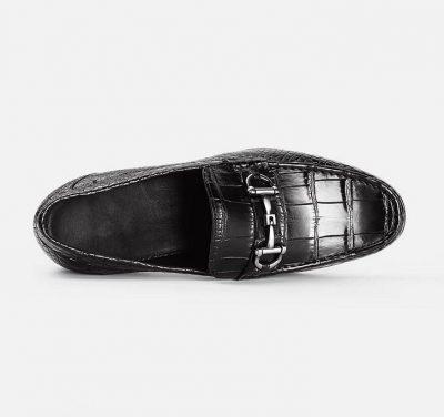 Handmade Alligator Boat Shoes-Upper