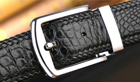Handmade Genuine Crocodile Belt-1