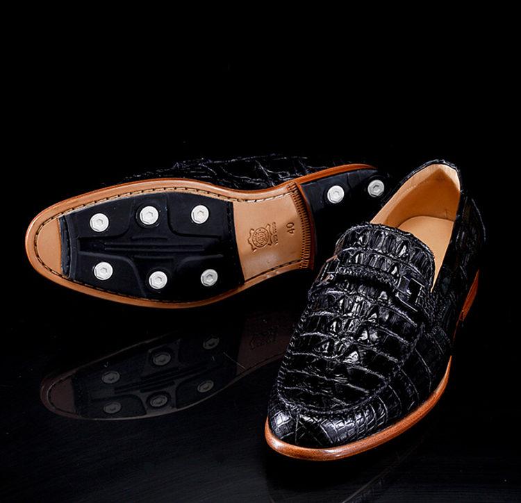 Luxury Handmade Alligator Boat Shoes-Exhibition