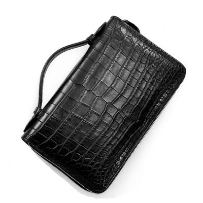 Men's Alligator Clutch Bag, Large Alligator Wallet