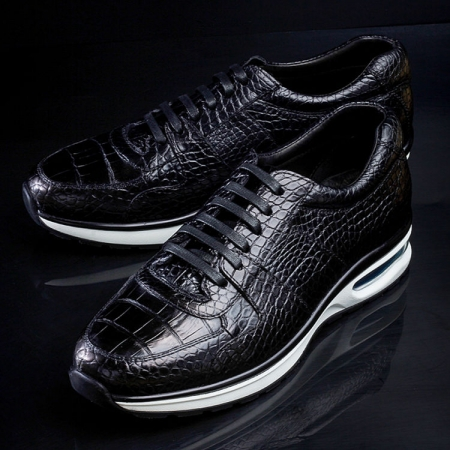 Mens Comfortable Sports Running Alligator Shoes-Exhibition