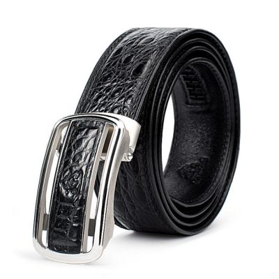 Luxury Style Crocodile Dress Belt for Men