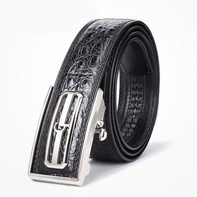 Luxury Style Crocodile Dress Belt for Men-GT