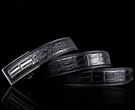 Luxury Style Crocodile Dress Belt for Men-GT-Lay