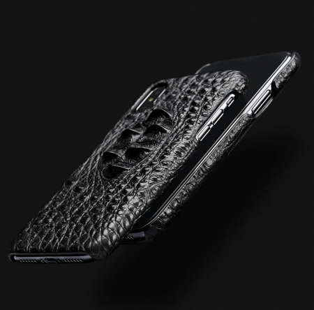 Black #1 iPhone X Case-Detail