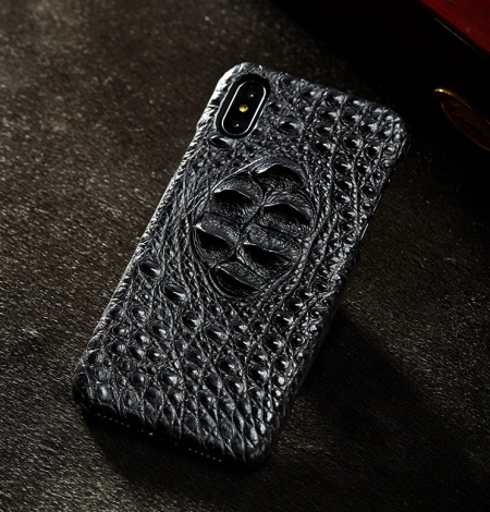 Black #1 iPhone X Case-Exhibition