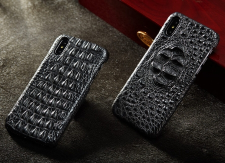 Black #1 iPhone X Case-Exhibitions