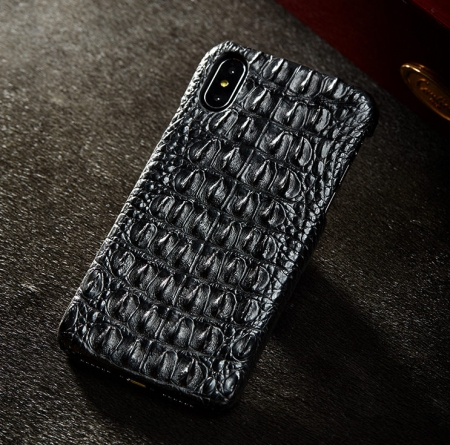 Black #3 iPhone X Case-Exhibition