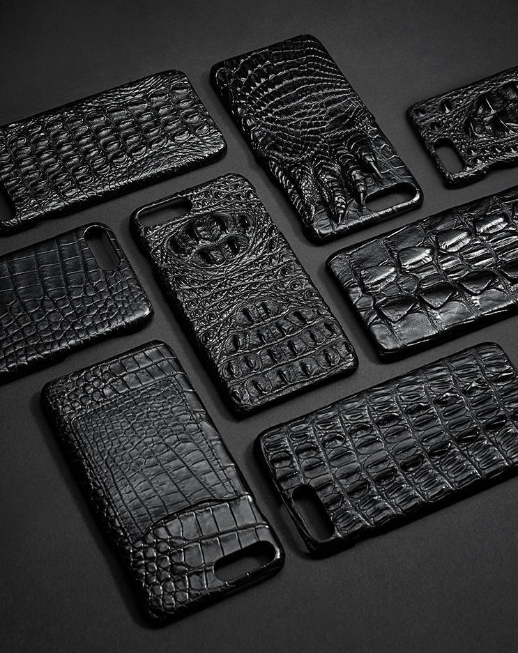 Crocodile iPhone 8 Plus Case-Exhibition