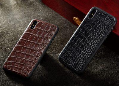 Genuine Alligator Skin iPhone X Case