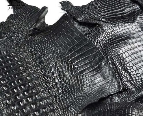 Genuine Crocodile Leather