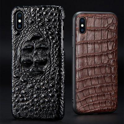 Genuine Crocodile and Alligator Skin iPhone X Cases