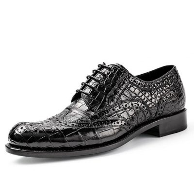 Alligator-Skin-Oxford-Business-Dress-Shoes-for-Men