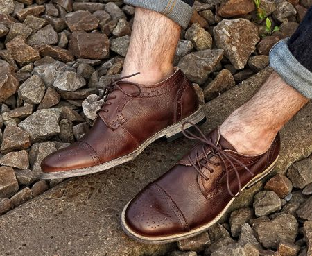 Handmade Leather Oxford Lace up Shoe