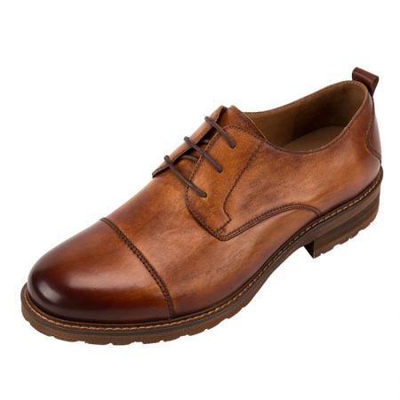 Men's Leather Oxford Dress Shoes Formal Lace up Shoes