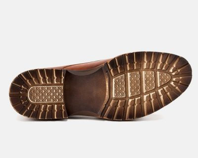 Men's Leather Oxford Dress Shoes Formal Lace up Shoes-Sole