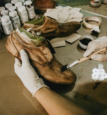 Men's Leather Oxford Dress Shoes Formal Lace up Shoes-Workmanship