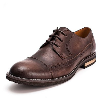 Vintage-Leather-Oxford-Lace-up-Shoes-for-Men