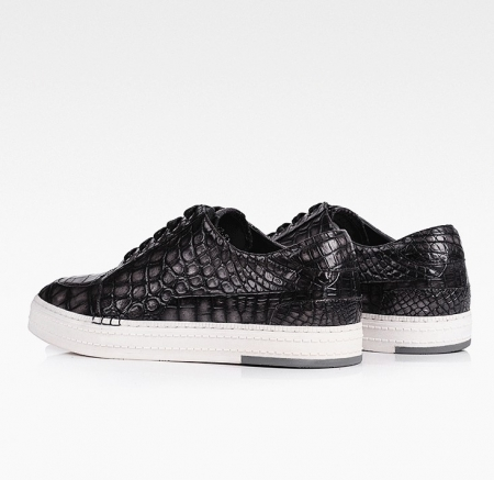 Alligator Sneaker Casual Lace-up Shoes-3