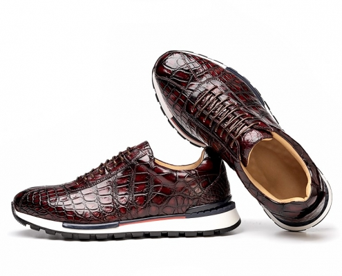 Best Winter Shoes for Men 2020-Alligator Sneakers